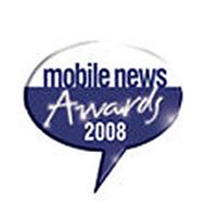 Mobile News Awards Best Online Retailer Winner 2008