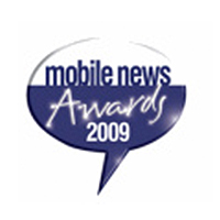 Mobile News Awards Best Online Retailer Runner Up 2009