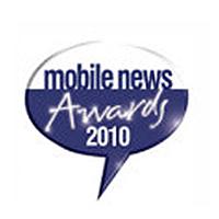 Mobile News Awards Best Online Retailer Runner Up 2010