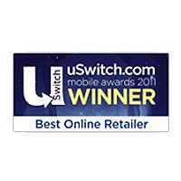 uSwitch Mobile Awards Best Online Retailer Winner 2011