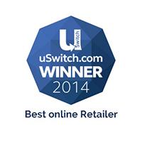 uSwitch Mobile Awards Best Online Retailer Winner 2014
