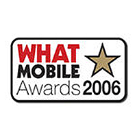 What Mobile Awards Best Online Retailer Runner Up 2006