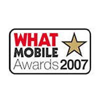 What Mobile Awards Best Online Retailer Runner Up 2007