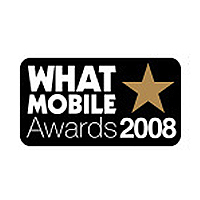 What Mobile Awards Best Online Retailer Runner Up 2008