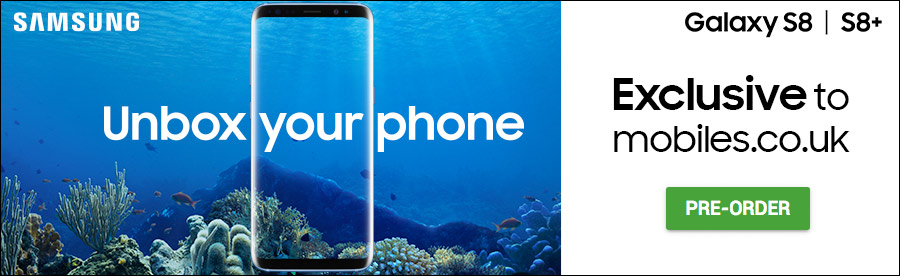 Samsung S8 Coral Blue