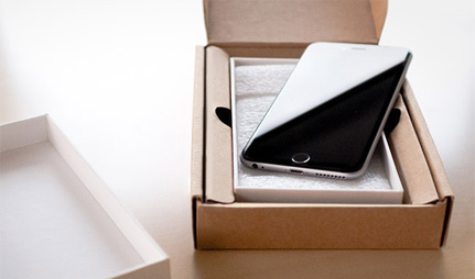 Unboxed iPhone