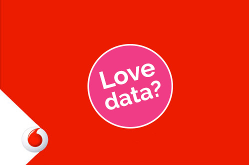 Vodafone network - data plans