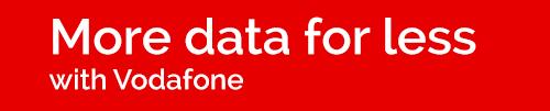 Vodafone 4x data