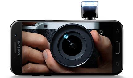Galaxy A5 cameras
