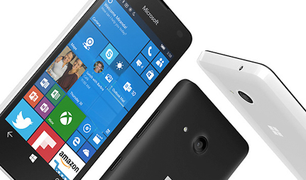 Microsoft Lumia 550 design