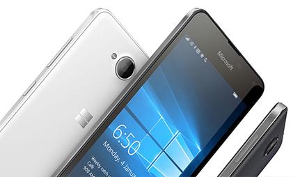 Microsoft Lumia 650 design