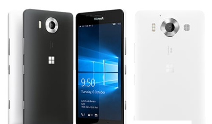 Microsoft Lumia 950 Design