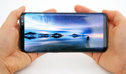 Samsung Galaxy S8 Plus entertainment