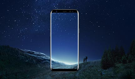 Samsung Galaxy S8 Plus Infinity Display