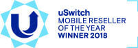 uSwitch Mobile Awards Winner 2015, 2016, 2017 & 2018