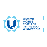 uSwitch Mobile Awards Mobile Reseller of the Year Winner 2017