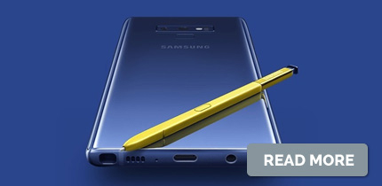 Blog about Samsung Note 9