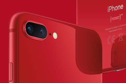 iPhone 8 Plus (PRODUCT)RED All Glass Design