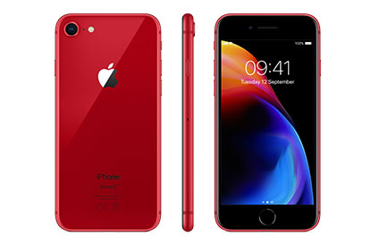 iPhone 8 (PRODUCT)RED Special edition colour