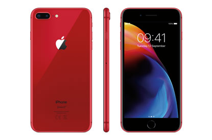 iPhone 8 Plus (PRODUCT)RED Special edition colour