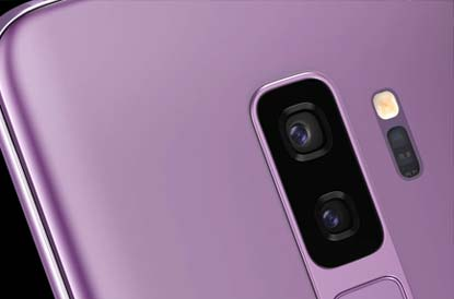 S9 plus camera