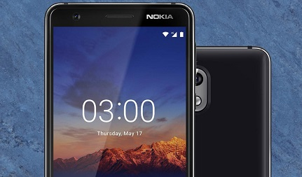 Nokia 3.1 HD+ Display