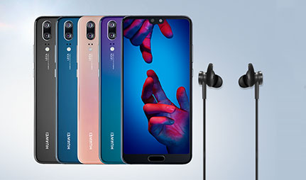 FREE Huawei Noise Cancelling Headphones