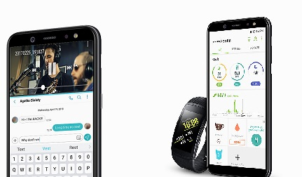Samsung Galaxy A6 Health App