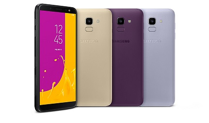 Samsung Galaxy J6 Screen