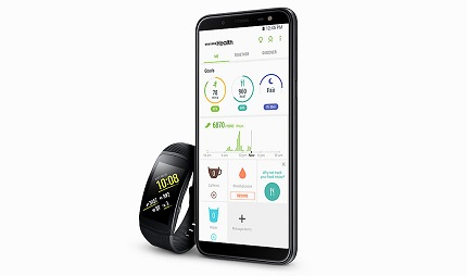 Samsung Galaxy J6 Health App