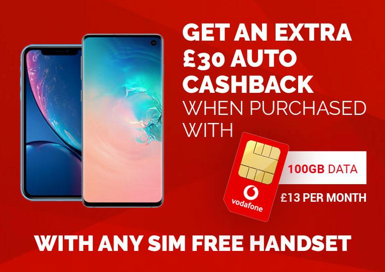 Vodaone SIMO and Sim Free Mobile