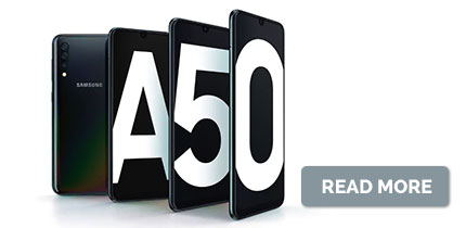 Introducing Samsung Galaxy A50