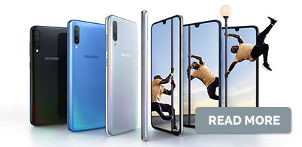 Introducing Samsung Galaxy A70