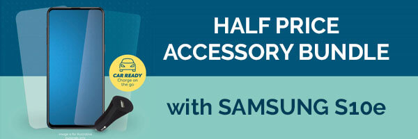 Half Price Accessory Bundles with Samsung S10e