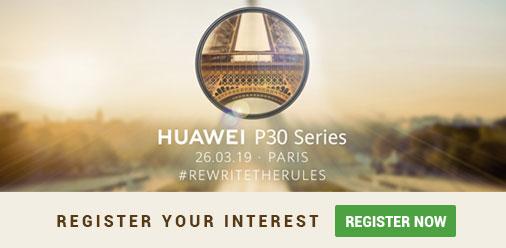 Huawei P30 pre-register