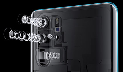 Huawei P30 Design and Display