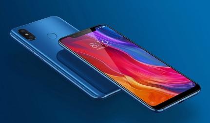 Xiaomi Mi 8 Design and Display