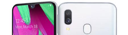Samsung Galaxy A40 Camera