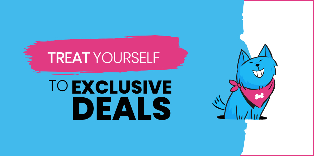 Treat Yourself To Exclusive Deals