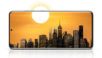 Samsung Galaxy S20+ 5G Design & Display