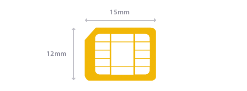 Micro SIM card Size guidelines