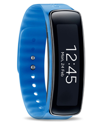 Samsung Gear Fit wearable and fitness tracker