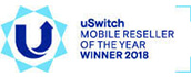 uSwitch Mobile Awards Winner 2015, 2016 & 2017