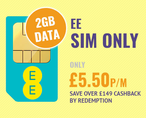 EE SIM Only Deal