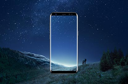 Samsung Galaxy S8 Infinity Display