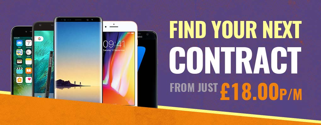 Find your next contract from £18 per month