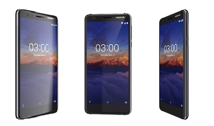 Nokia 3.1 Design and Display