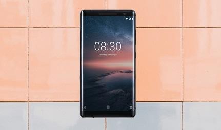 Nokia 8 Sirocco Power