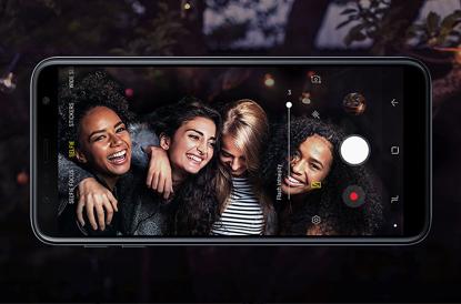 Samsung Galaxy J6 Plus Camera
