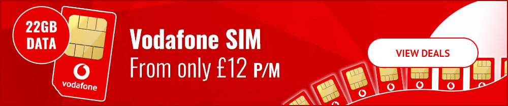 SIM Only Deals from £12 per month